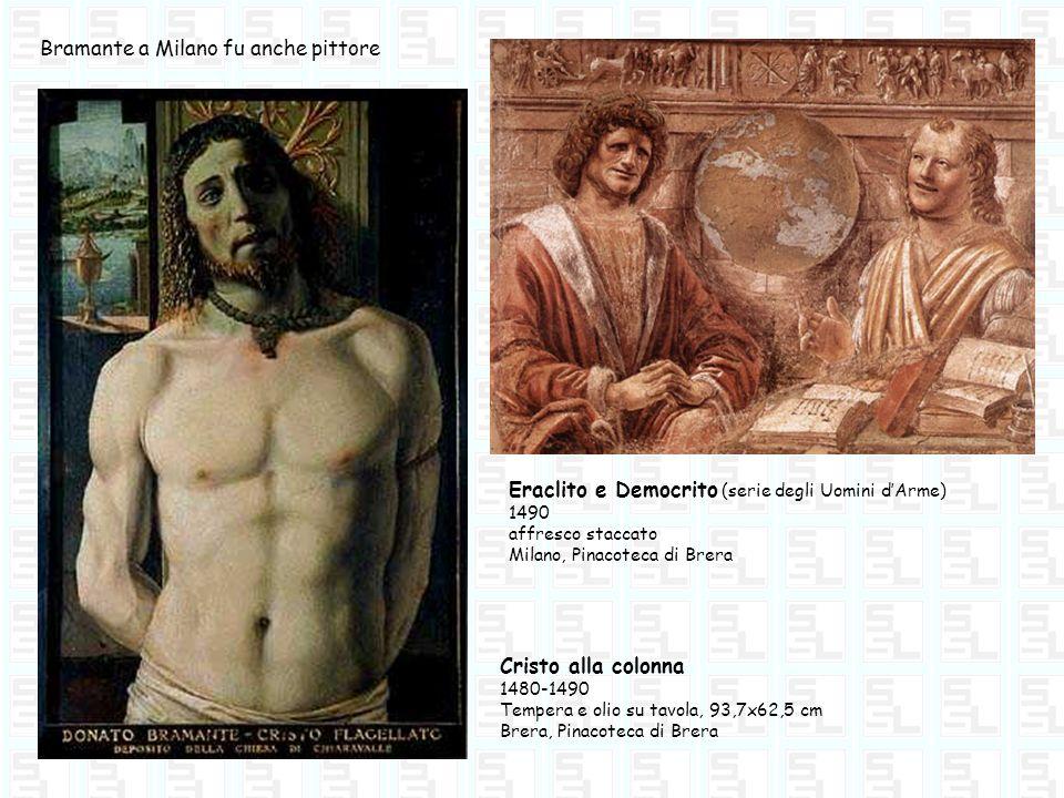 Bramante a Milano fu anche pittore