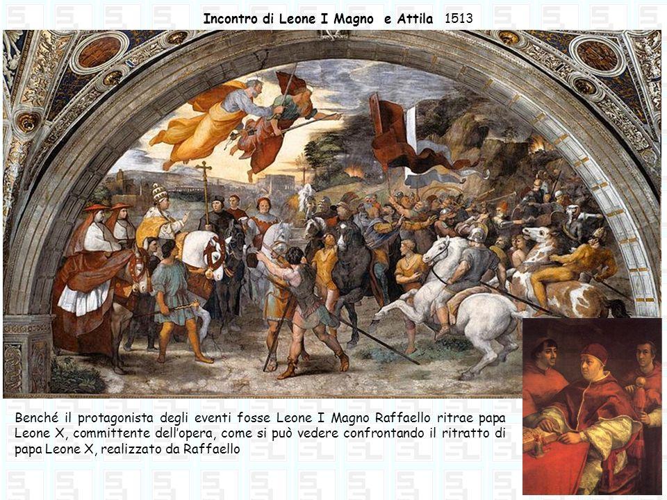 Incontro di Leone I Magno e Attila 1513