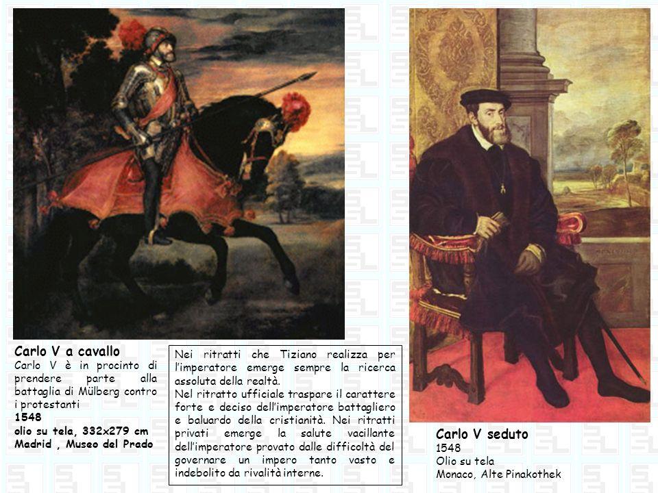 Carlo V a cavallo Carlo V seduto