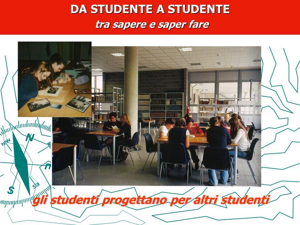 gli studenti progettano per altri studenti