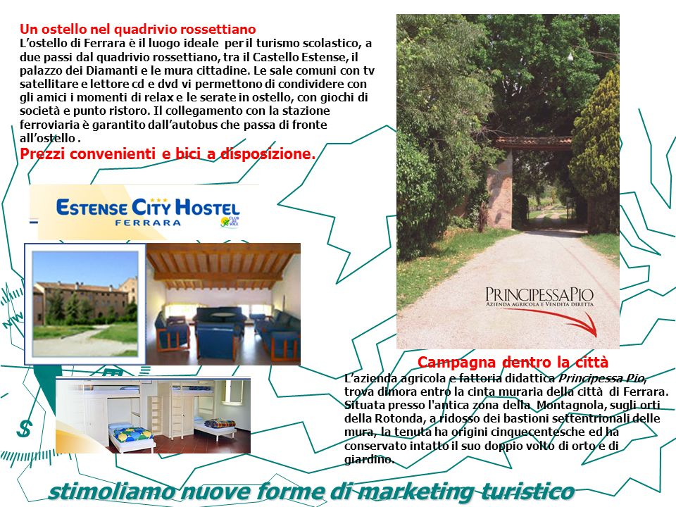 stimoliamo nuove forme di marketing turistico