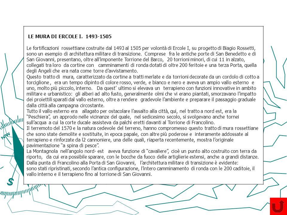 LE MURA DI ERCOLE I. 1493-1505