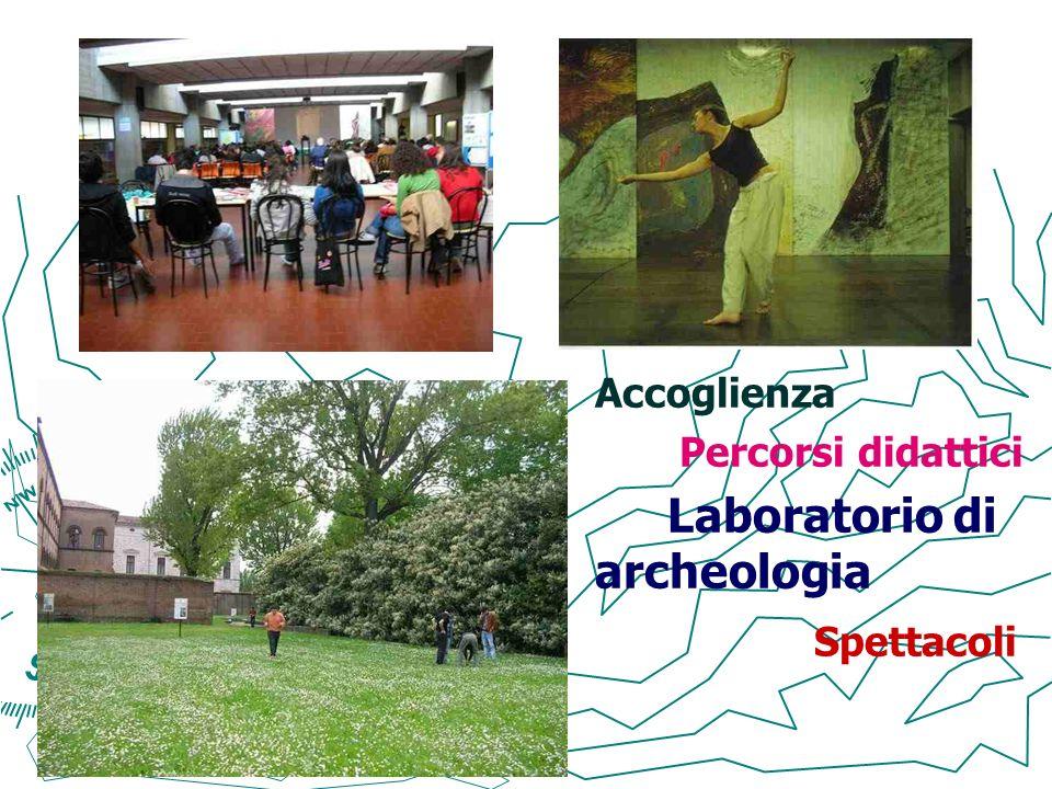 Accoglienza Percorsi didattici Laboratorio di archeologia Spettacoli 8