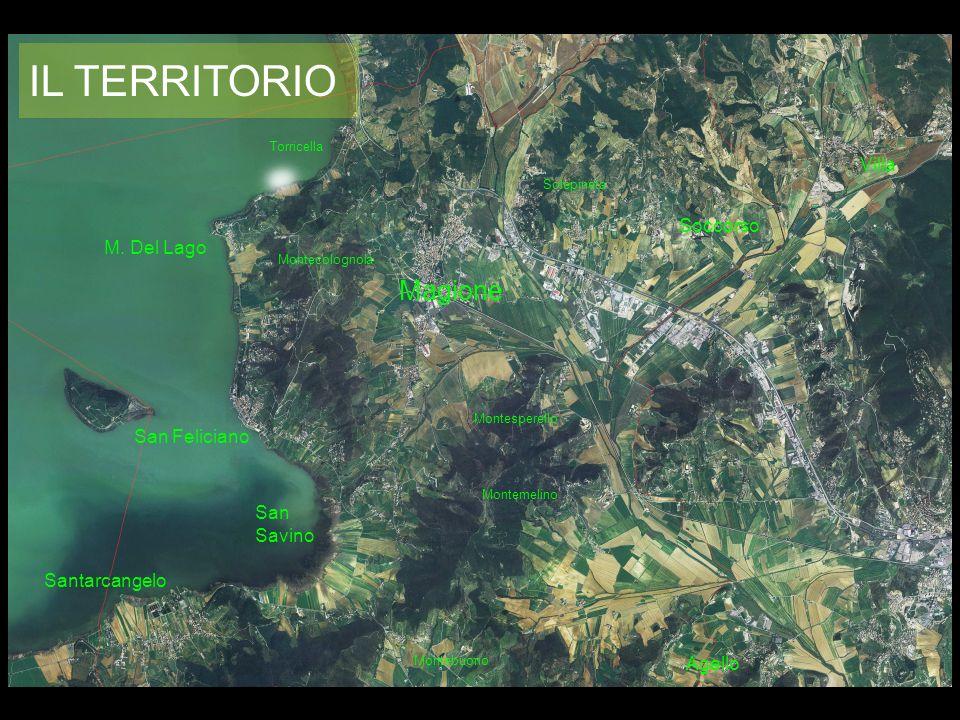 IL TERRITORIO Magione Villa Soccorso M. Del Lago San Feliciano
