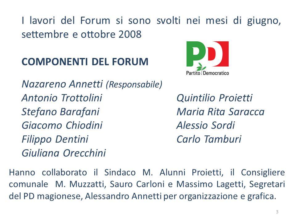 Nazareno Annetti (Responsabile) Antonio Trottolini Stefano Barafani