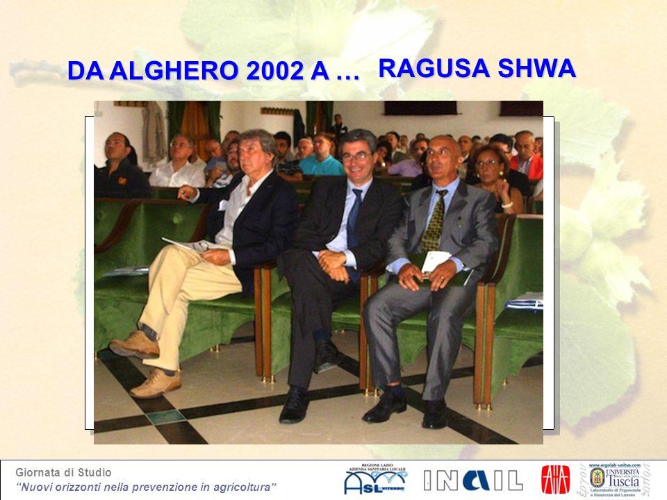 DA ALGHERO 2002 A … RAGUSA SHWA 10