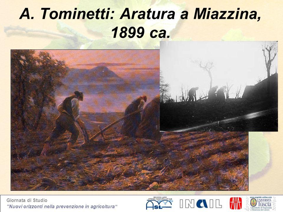 A. Tominetti: Aratura a Miazzina, 1899 ca.