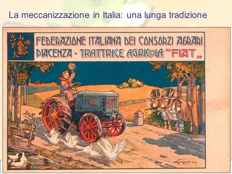La meccanizzazione in Italia: una lunga tradizione