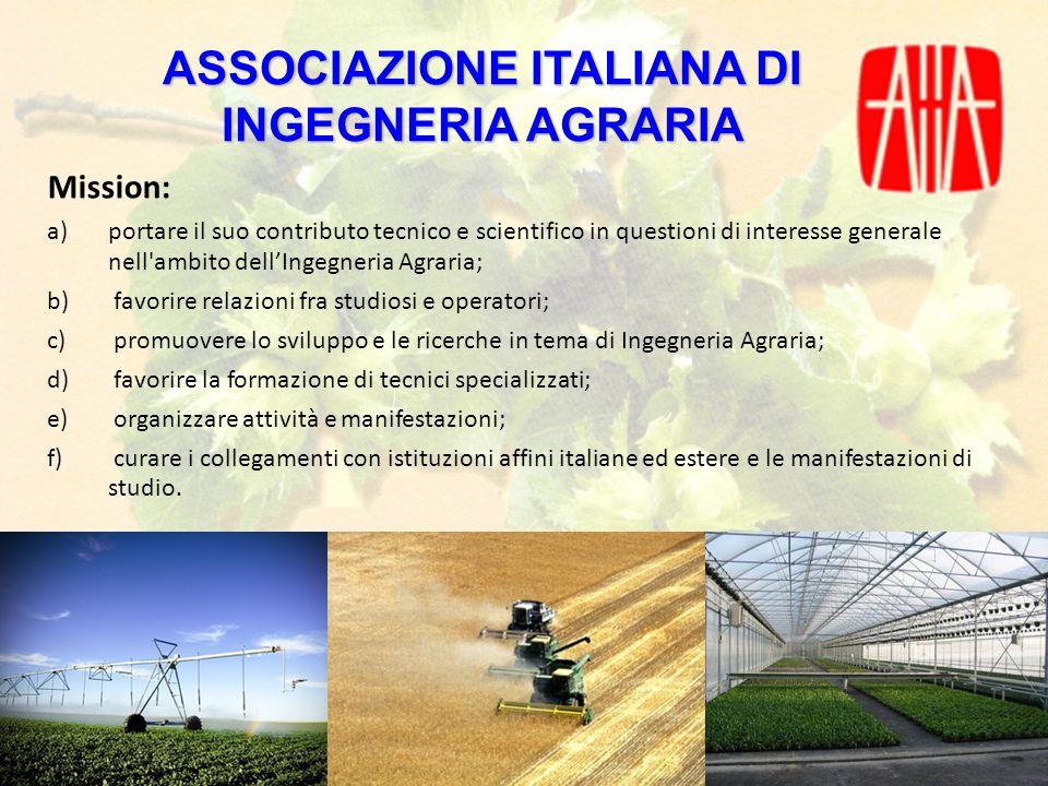 ASSOCIAZIONE ITALIANA DI INGEGNERIA AGRARIA