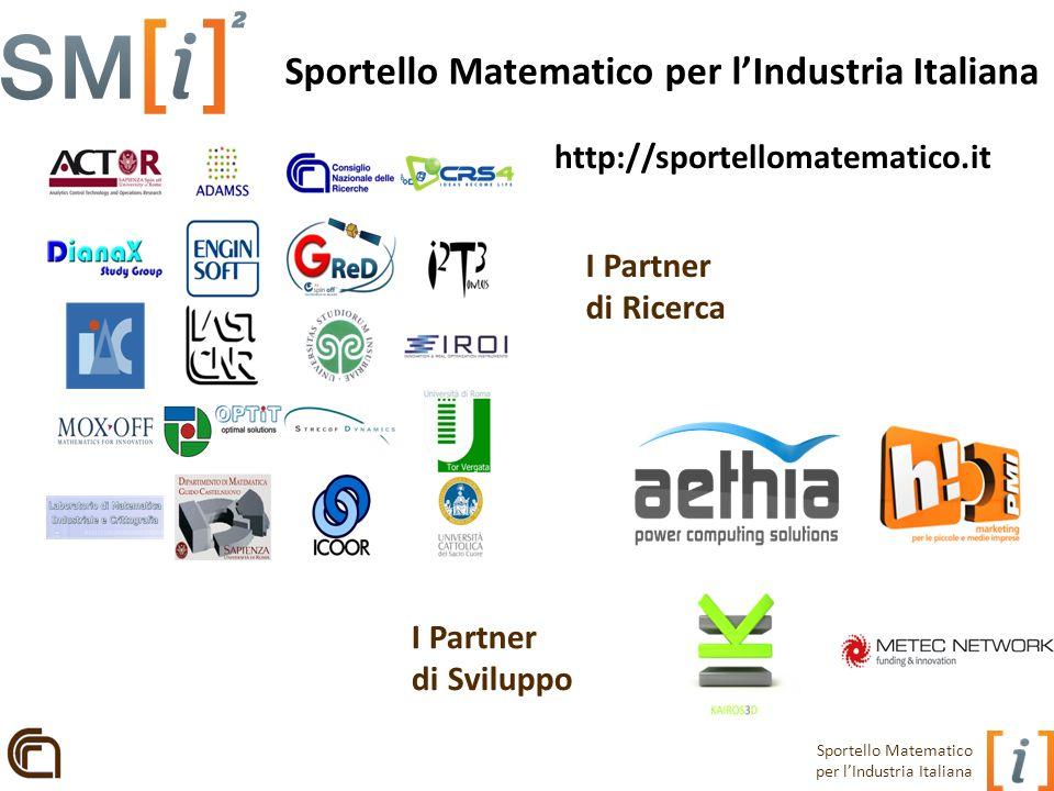 Sportello Matematico per l'Industria Italiana