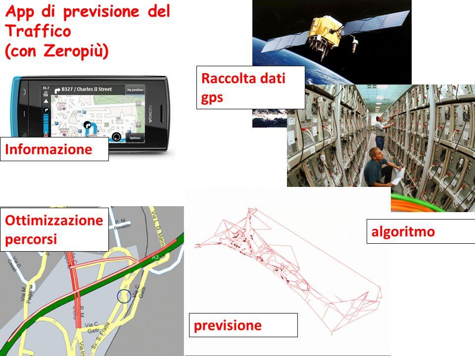 App di previsione del Traffico (con Zeropiù)