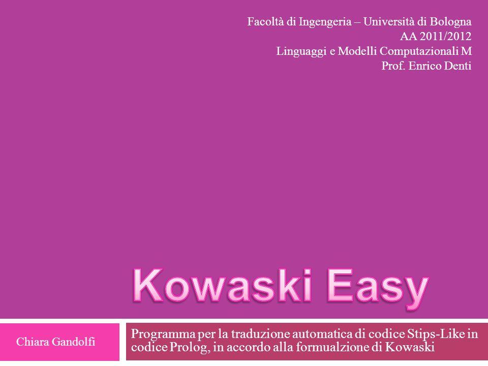 Facoltà di Ingengeria – Università di Bologna