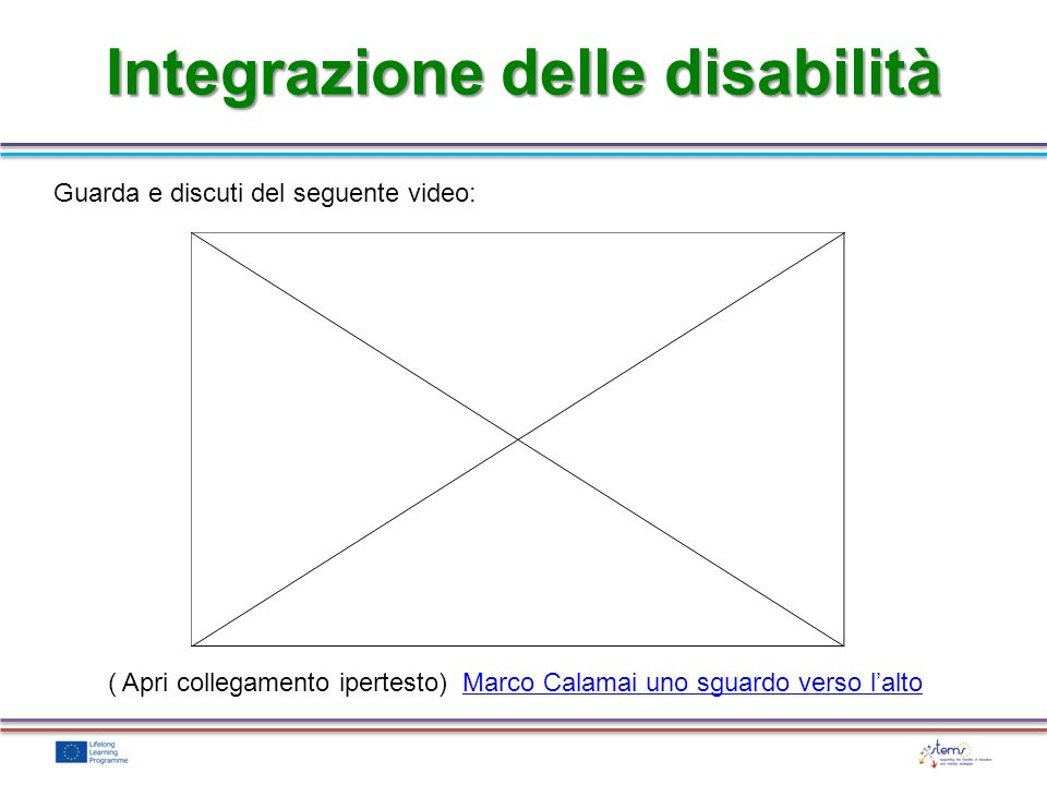 Integrazione delle disabilità