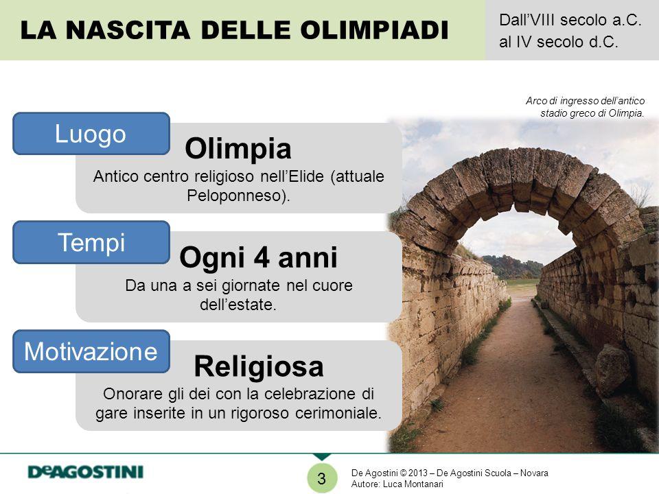 Olimpia Ogni 4 anni Religiosa