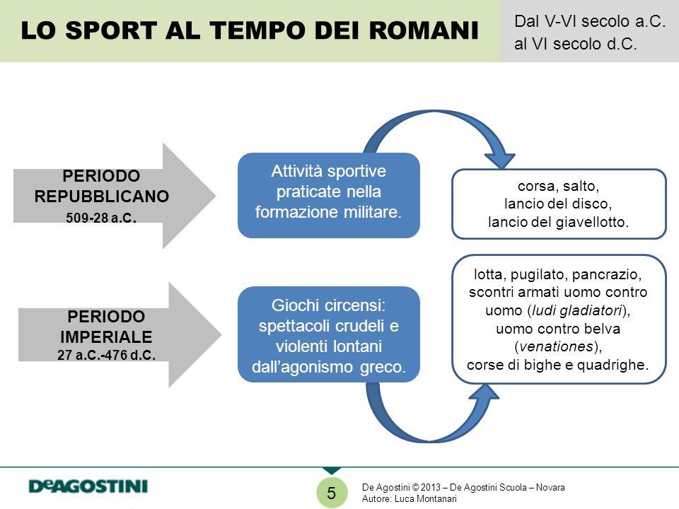LO SPORT AL TEMPO DEI ROMANI