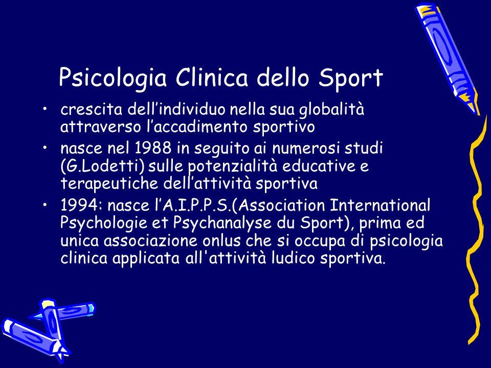 Psicologia Clinica dello Sport