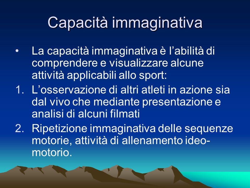 Capacità immaginativa