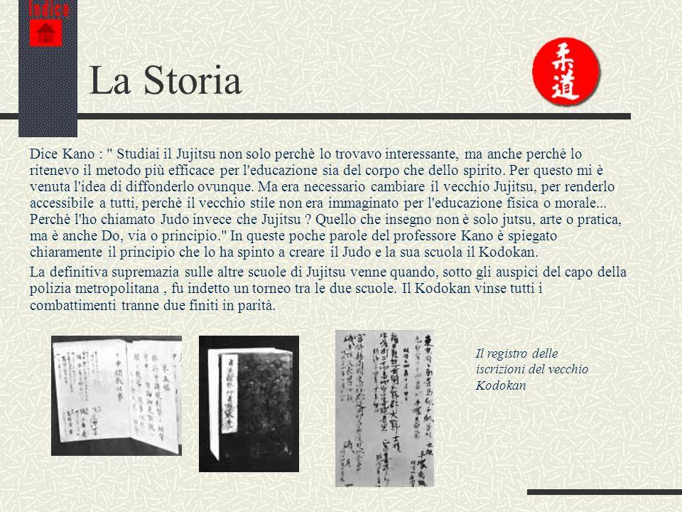IndiceLa Storia.