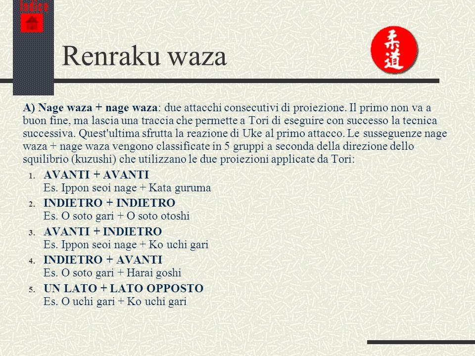 IndiceRenraku waza.