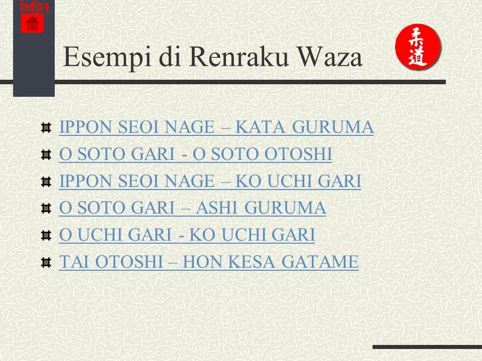 Esempi di Renraku Waza IPPON SEOI NAGE – KATA GURUMA