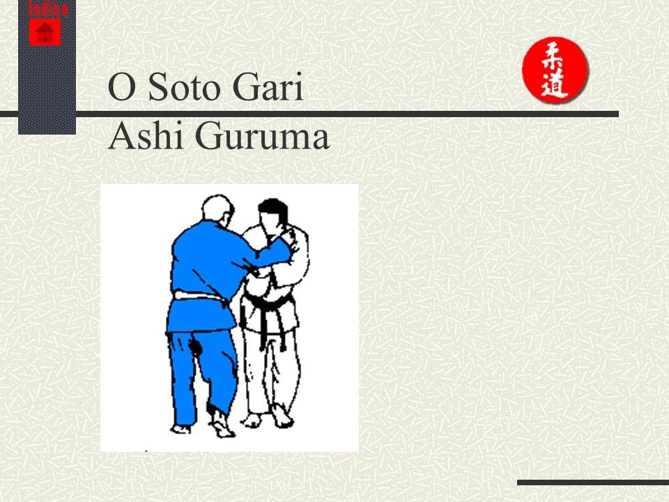 Indice O Soto Gari Ashi Guruma