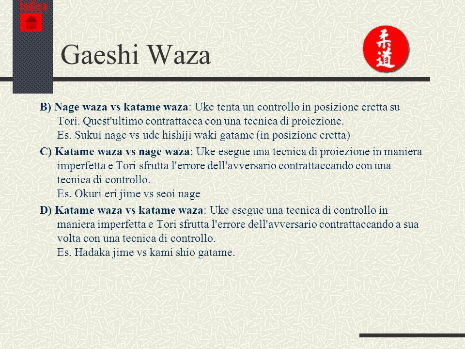 Indice Gaeshi Waza.