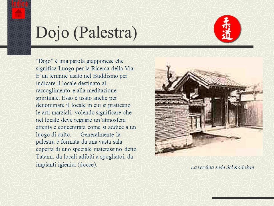 IndiceDojo (Palestra)