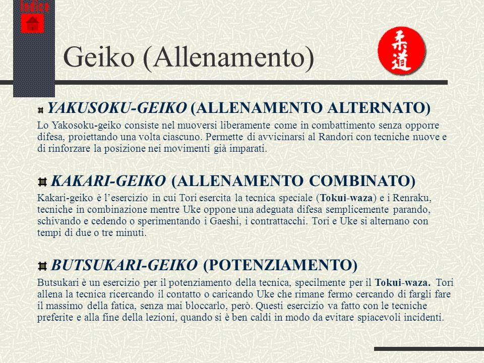 Geiko (Allenamento) KAKARI-GEIKO (ALLENAMENTO COMBINATO)