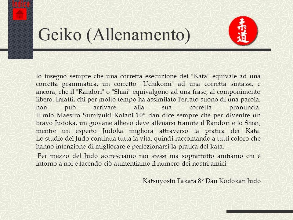 Indice Geiko (Allenamento)