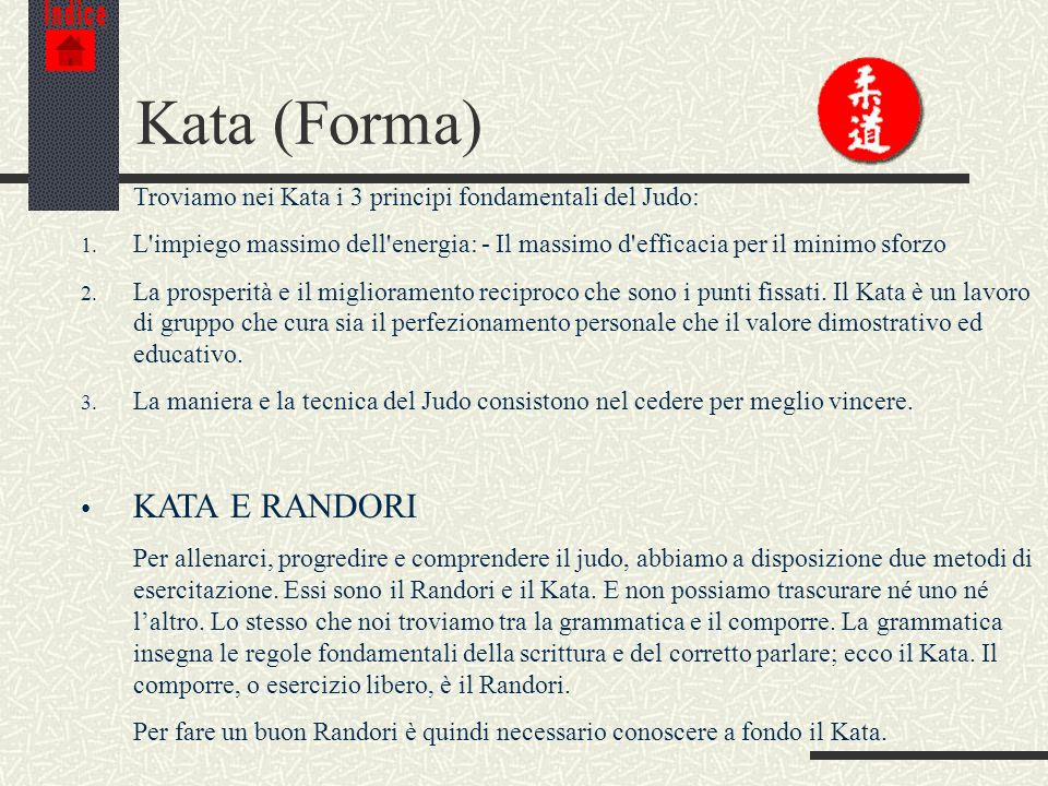 Kata (Forma) KATA E RANDORI