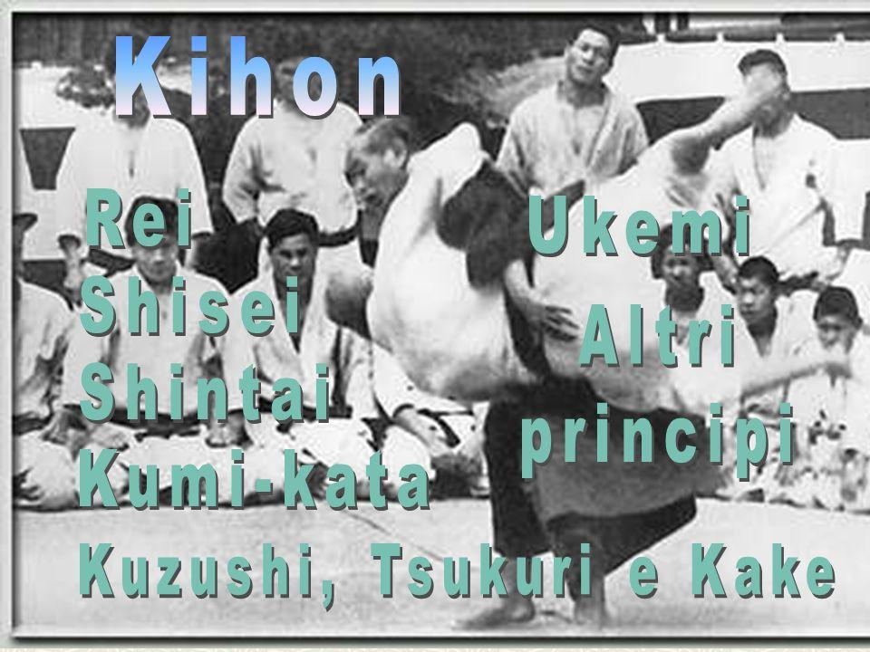 Kihon Rei Ukemi Shisei Altri principi Shintai Kumi-kata