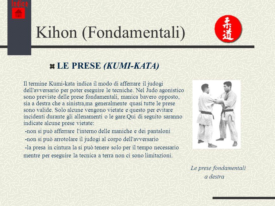 Kihon (Fondamentali) LE PRESE (KUMI-KATA)
