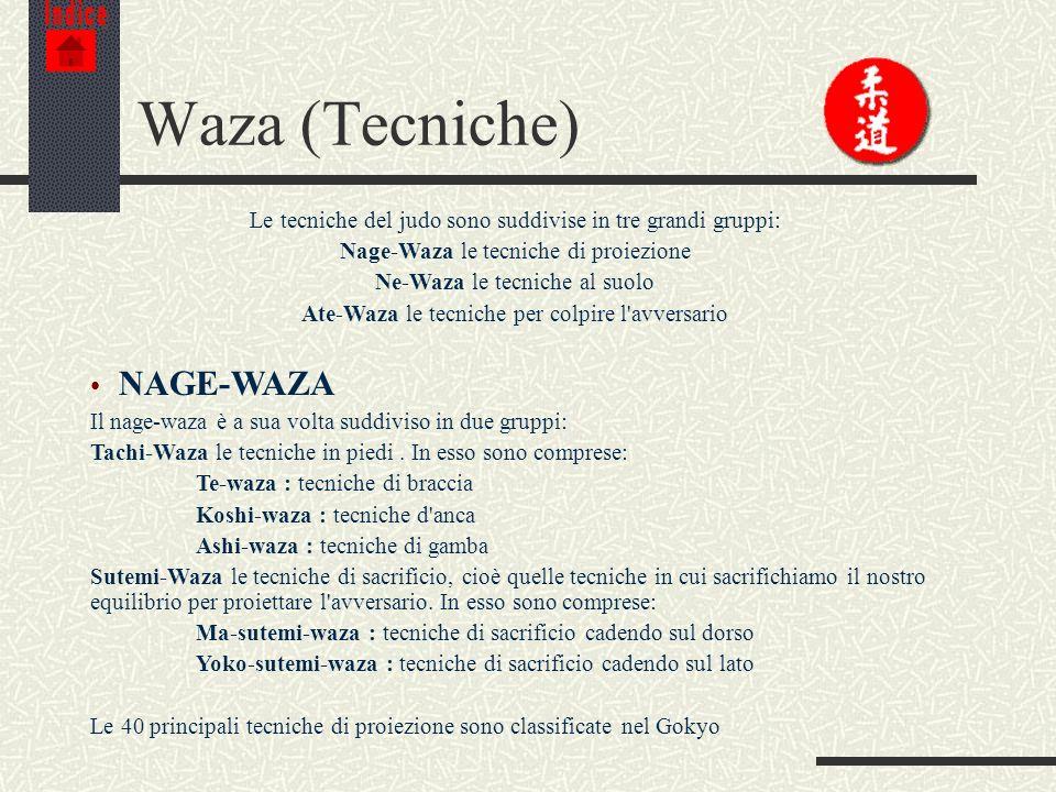 Waza (Tecniche) NAGE-WAZA