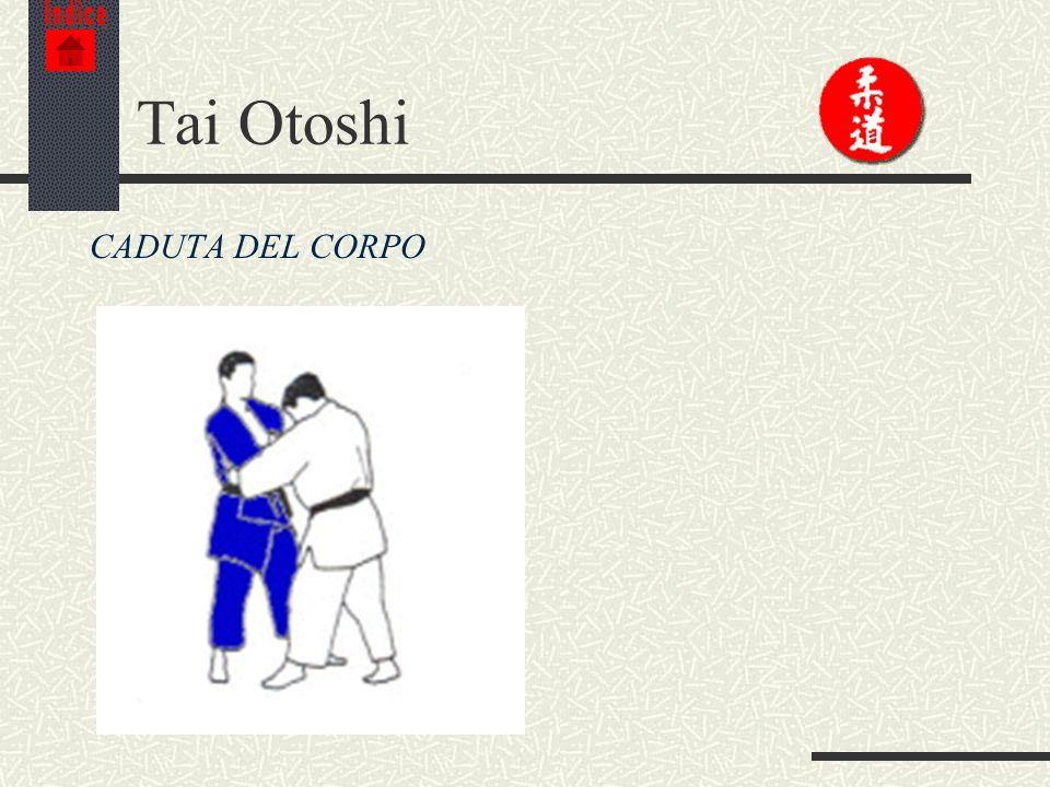 Indice Tai Otoshi CADUTA DEL CORPO