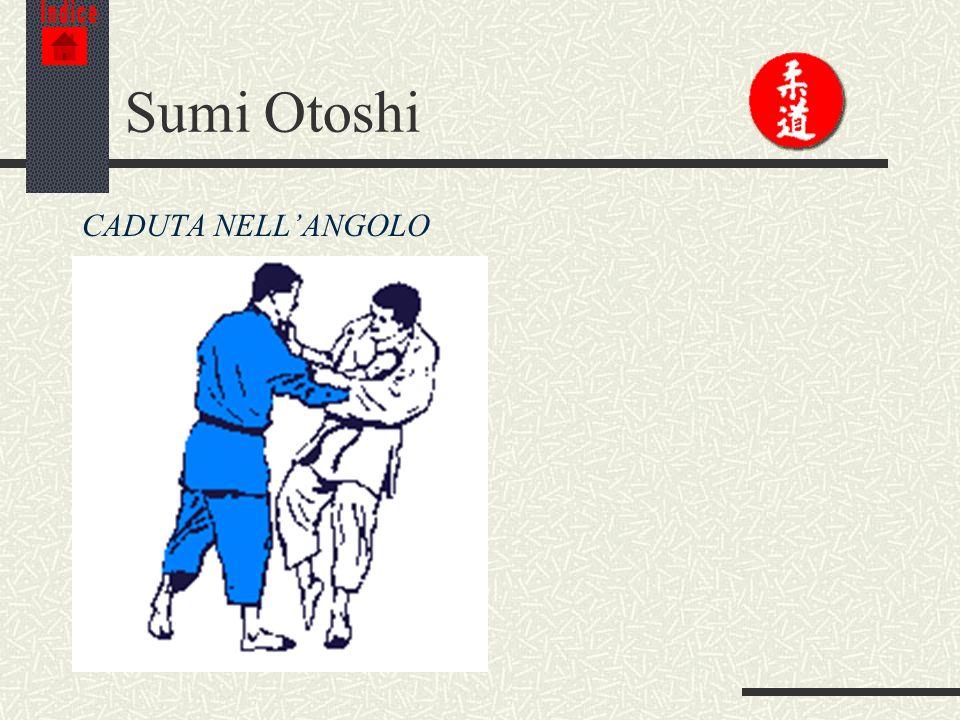 Indice Sumi Otoshi CADUTA NELL'ANGOLO