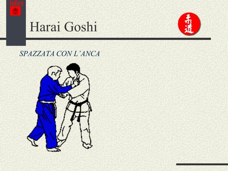 Indice Harai Goshi SPAZZATA CON L'ANCA