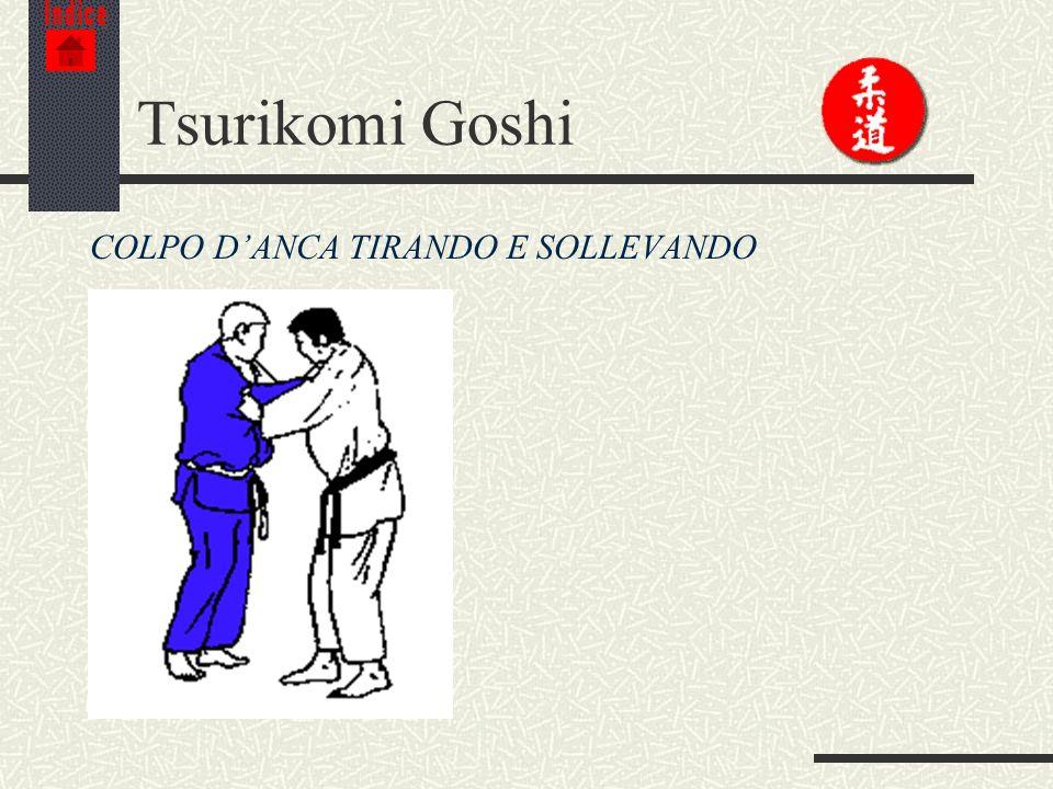 Indice Tsurikomi Goshi COLPO D'ANCA TIRANDO E SOLLEVANDO