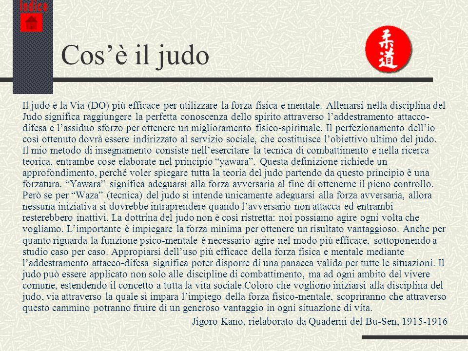 Indice Cos'è il judo.