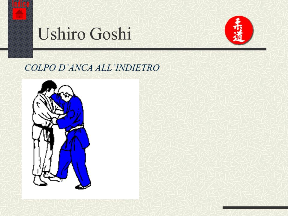 Indice Ushiro Goshi COLPO D'ANCA ALL'INDIETRO