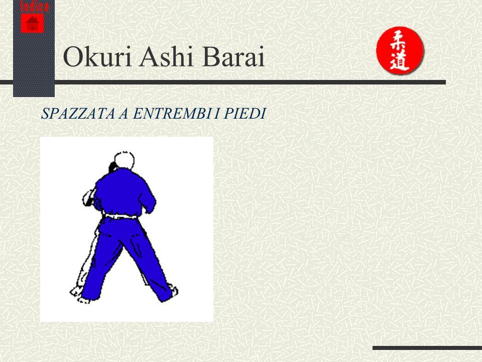 Indice Okuri Ashi Barai SPAZZATA A ENTREMBI I PIEDI