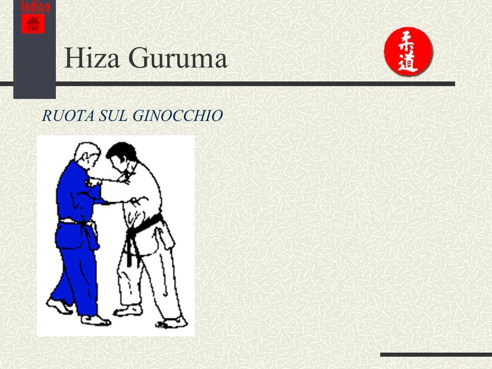 Indice Hiza Guruma RUOTA SUL GINOCCHIO