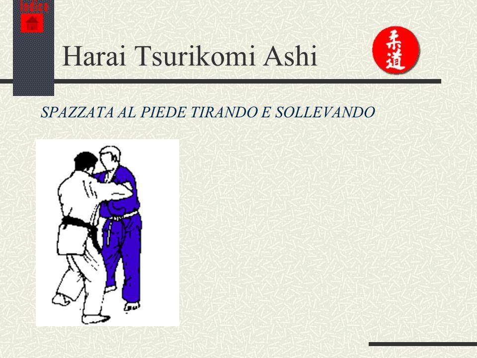 Indice Harai Tsurikomi Ashi SPAZZATA AL PIEDE TIRANDO E SOLLEVANDO