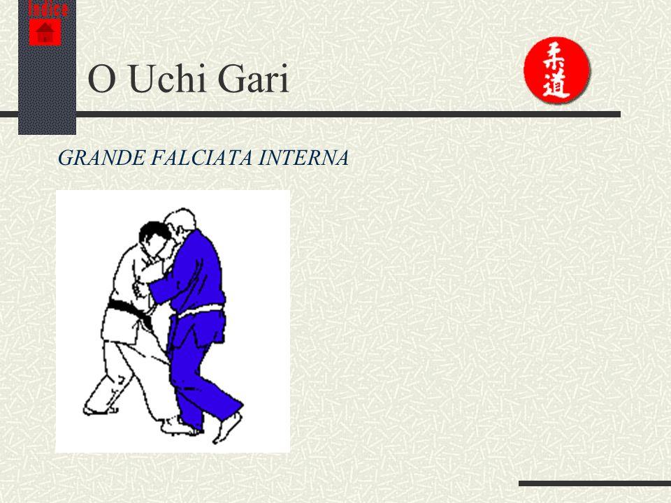 Indice O Uchi Gari GRANDE FALCIATA INTERNA