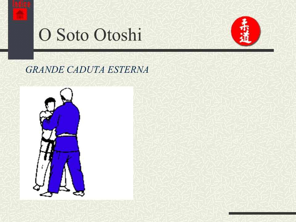 Indice O Soto Otoshi GRANDE CADUTA ESTERNA