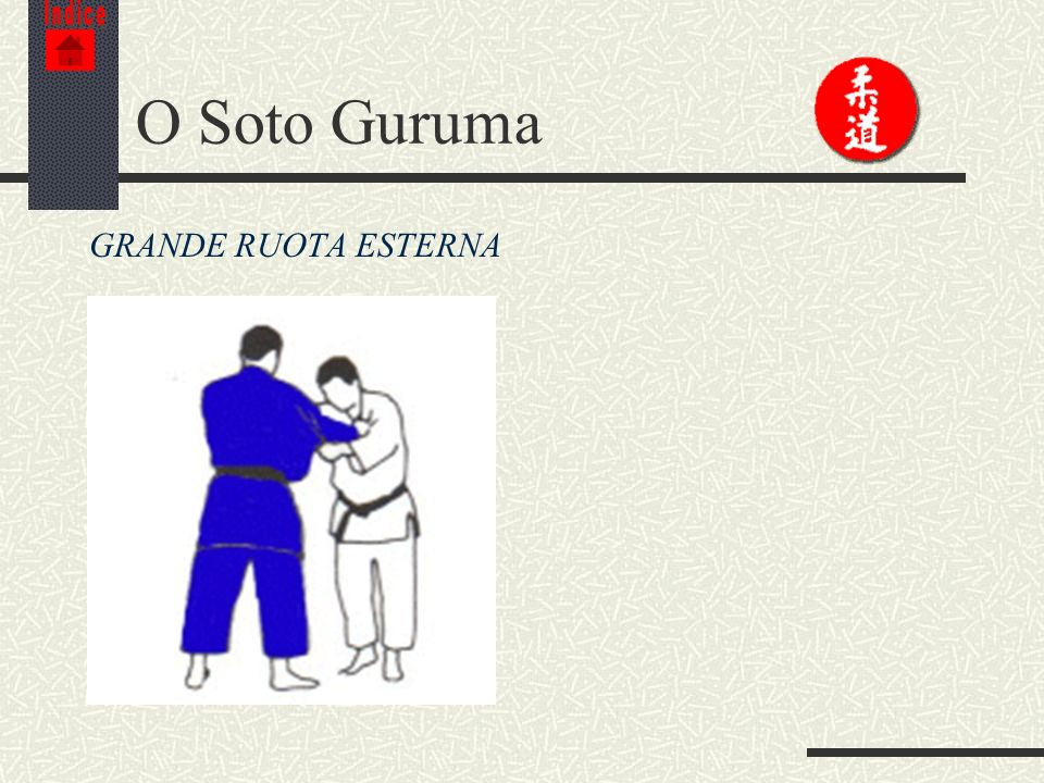 Indice O Soto Guruma GRANDE RUOTA ESTERNA