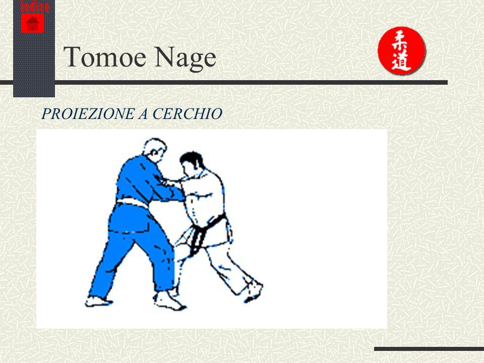 Indice Tomoe Nage PROIEZIONE A CERCHIO
