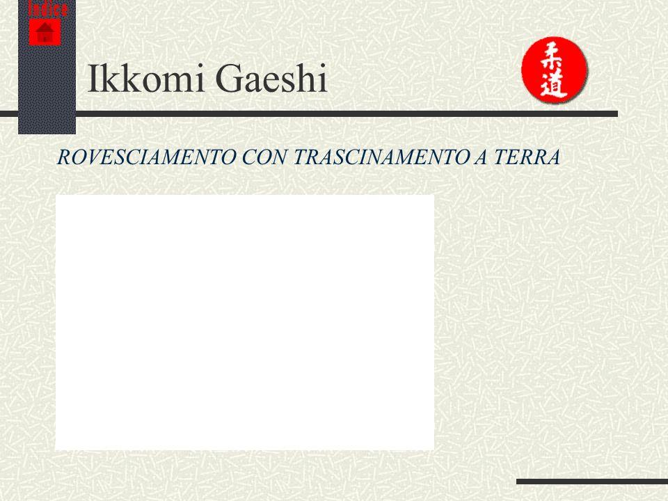 Indice Ikkomi Gaeshi ROVESCIAMENTO CON TRASCINAMENTO A TERRA