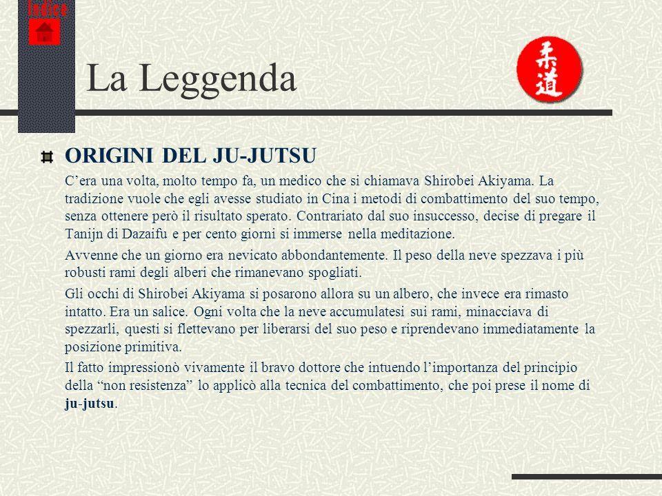 La Leggenda ORIGINI DEL JU-JUTSU