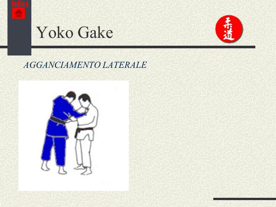 Indice Yoko Gake AGGANCIAMENTO LATERALE