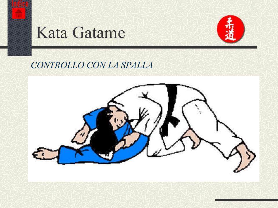 Indice Kata Gatame CONTROLLO CON LA SPALLA